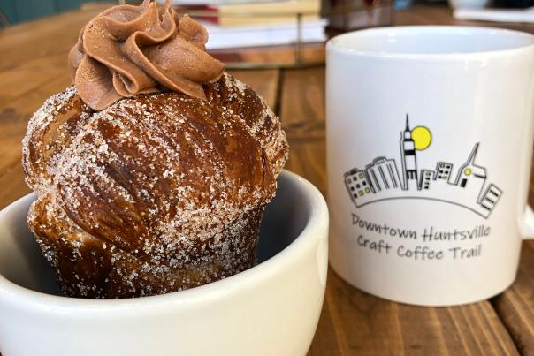 Moon Bakeshop Coffee Tail Cruffin