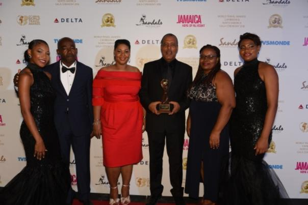 Port Authority of Jamaica Team at World Travel Awards