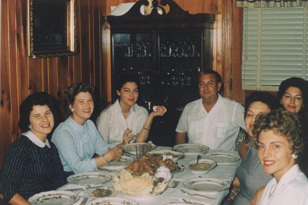 Ava Gardner - Family Dinner