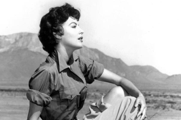 Ava Gardner was born just outside Smithfield, NC, where today visitors enjoy a museum dedicated to her life and career.