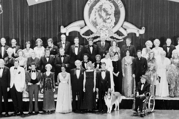 Group image of MGM stars