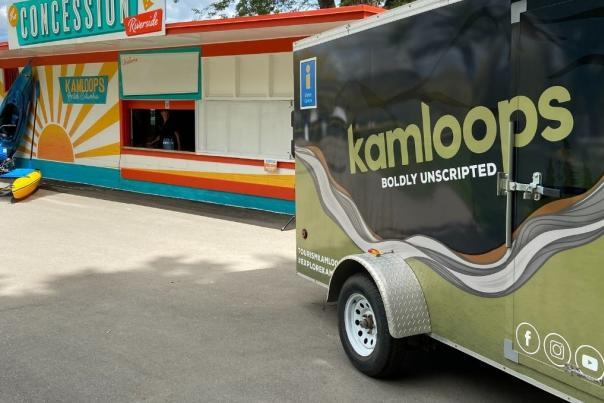 Tourism Kamloops Jeep Trailer