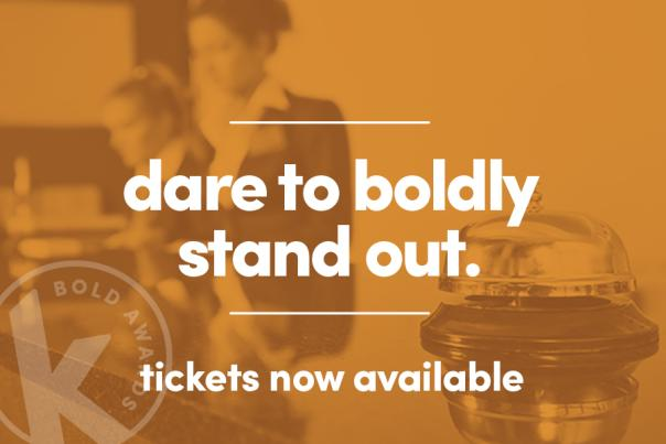 Bold Awards - Tickets now available
