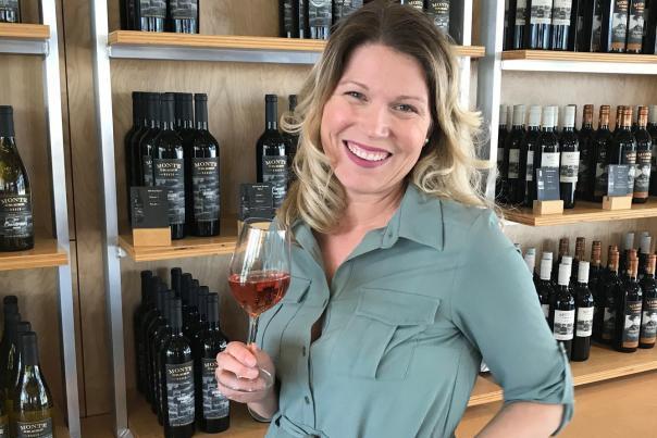 Danett at Monte Creek Ranch Winery