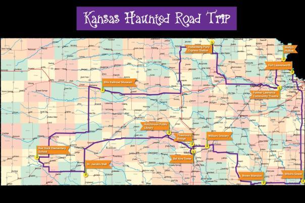 Kansas Haunted Road Trip