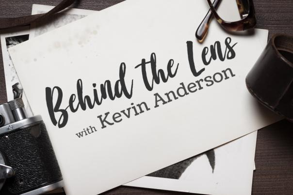 Behind the Lens logo by Kevin Anderson