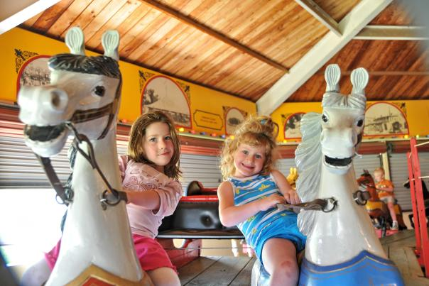 Carousel Ride at Heritage Center