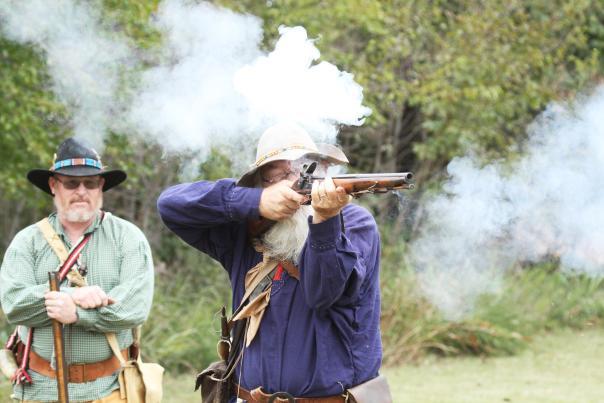 Fall River Rendezvous 2018 Rifle Shot