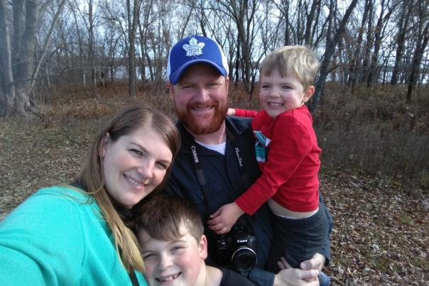 Jess Painter Kansas Mom Birding Blog Family Pic