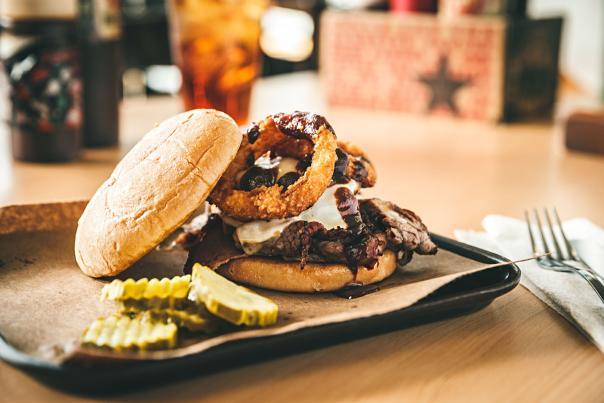 Joe's Kansas City BBQ Featuring The Z Man Sandwich