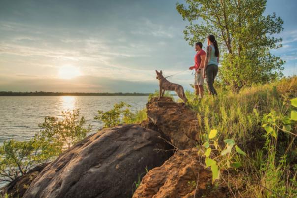 Outdoor Adventure Couple