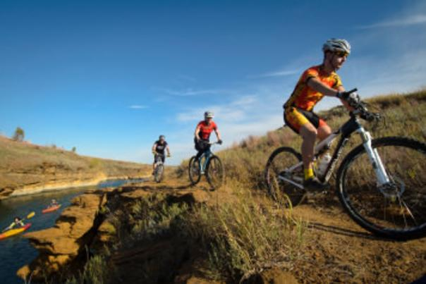 The Switchgrass Epic Mountain Bike Trail at Wilson State Park is a favorite of riders in the Midwest.