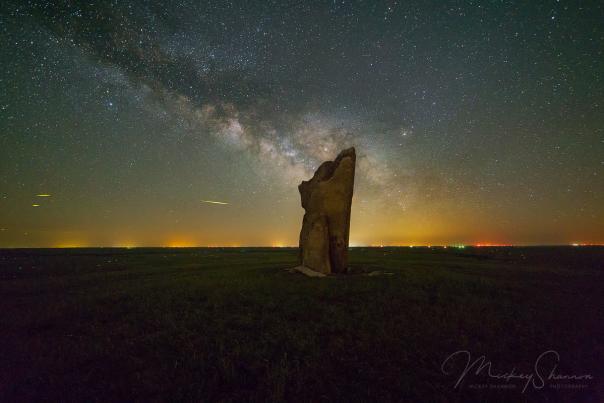 Teter Rock Milky Way