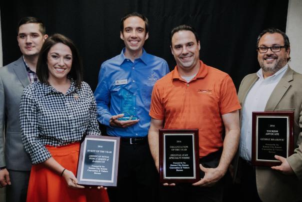2017 Tourism Award Winners