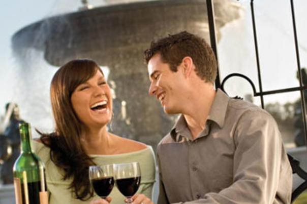 Romantic Couple at Chateau