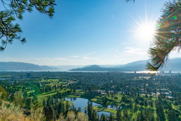 Kelowna City View at Dilworth Mountain
