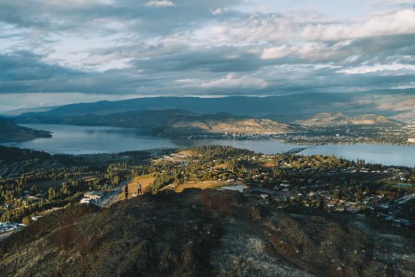 Mount Boucherie (Aerial)