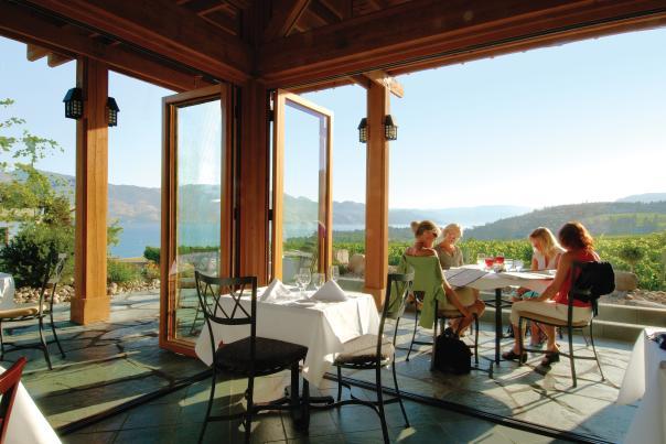 Quails Gate Estate Winery Old Vines Restaurant