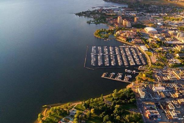 Aerial of Kelowna
