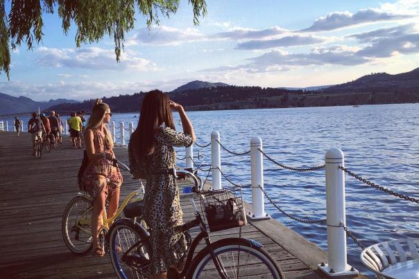 Biking Waterfront Park