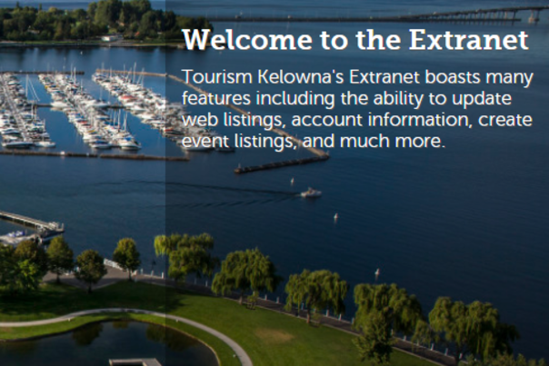 Extranet Main Page