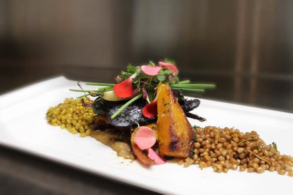 Lakeside Dining - Hotel Eldorado Vegan Dish