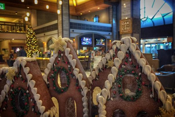 Gingerbread Houses at Oak + Cru
