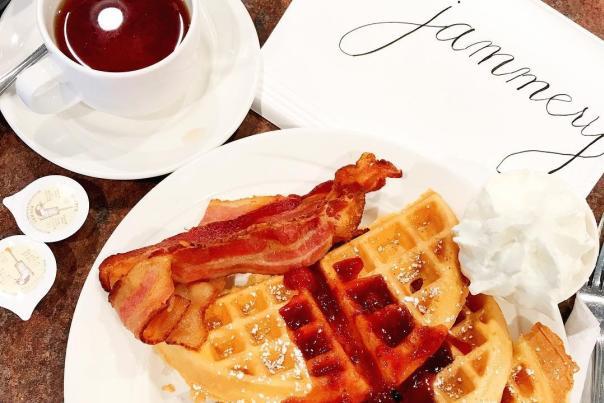 Jammery Waffles