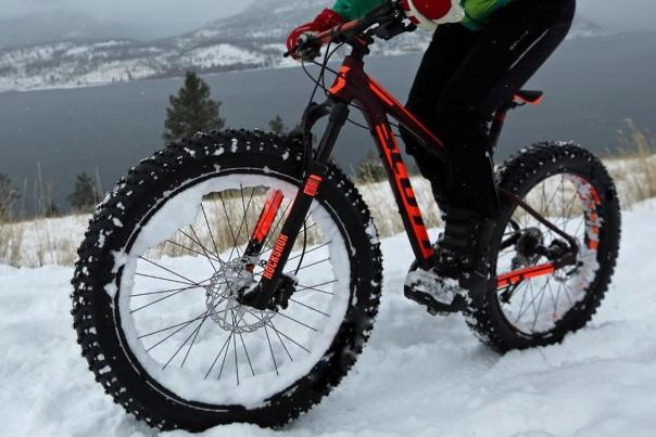 Sonya Fat Biking