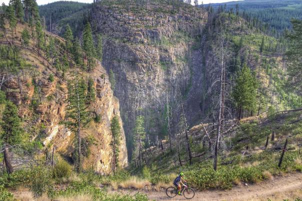 Mountain Biking Crawford Canyon