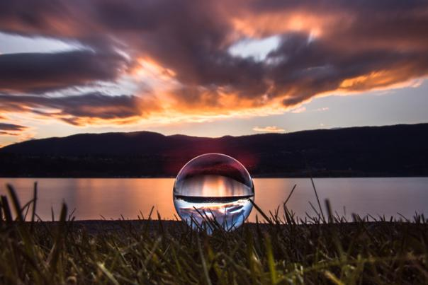 Orb at Sunset at Kinsman Park | Blog Lead Image