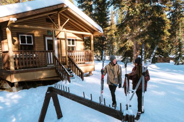 Cabin at Kelowna Nordic Centre