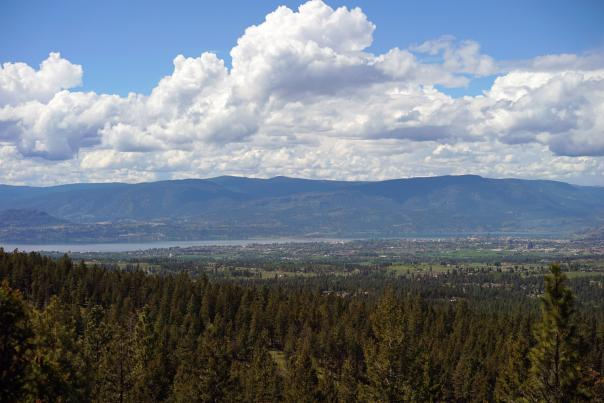 Distance Shot of Kelowna