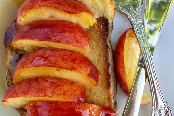 Peaches & Toast