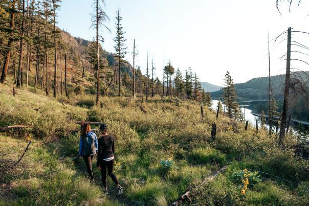 Hiking Rose Valley