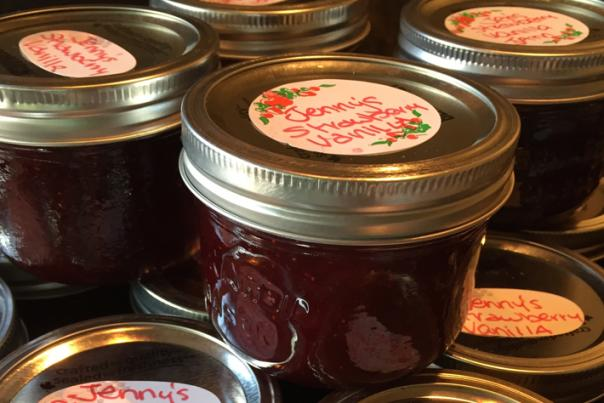 Jennifer's Stawberry Jam
