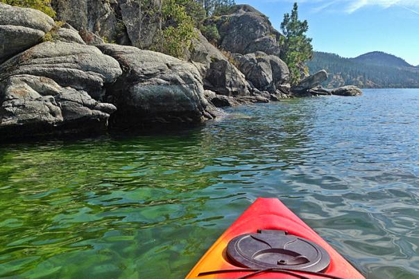 Kayaking Okanagan Lake | Blog Lead Image
