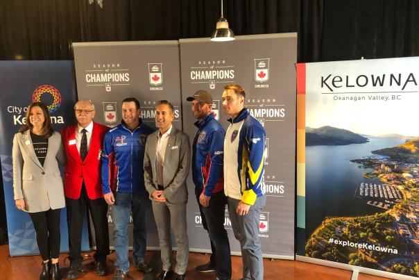Tim Hortons Brier Announcement