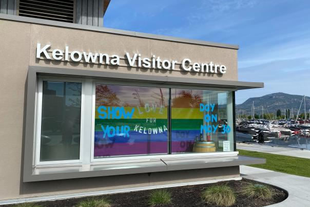 Visitor Centre - Show Your Love for Kelowna Day