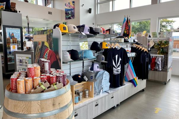Kelowna Visitor Centre Retail Display