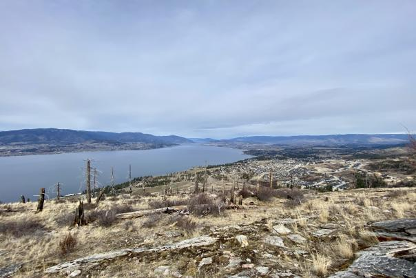 Johns Family Nature Conservancy View of Kelowna