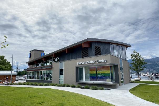 Kelowna Visitor Centre Pride Month