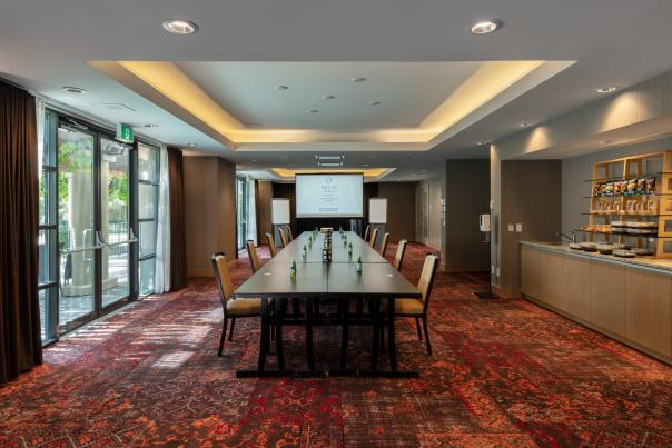 Meeting Room (COVID Setup) - Delta Grand