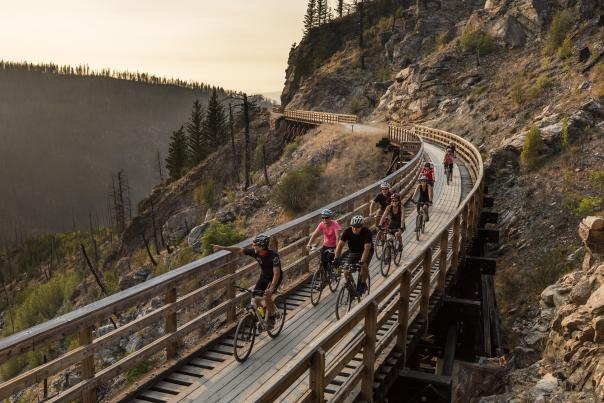 Myra Canyon Trestles Tour
