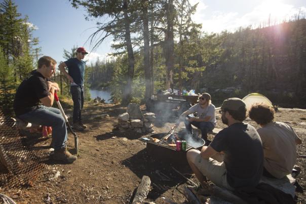 Okanagan Mountain Provincial Park Camp
