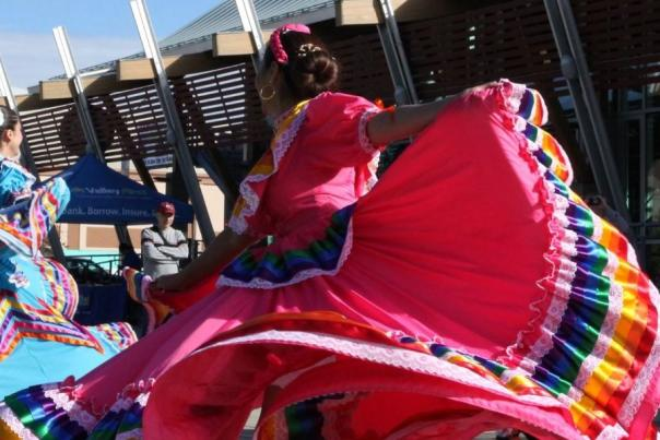 Okanagan Mexican Folklore Dance Group performing at the Rotary Centre for the Arts during Culture Days 2018