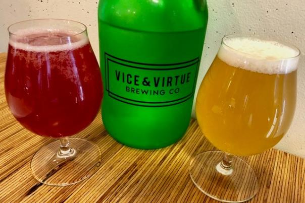 Vice & Virtue Brewing Beers