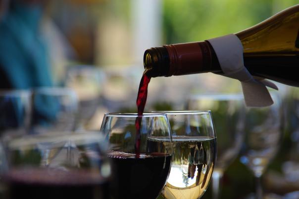Summerhill pouring wine