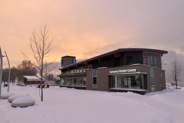 Kelowna Visitor Centre Winter