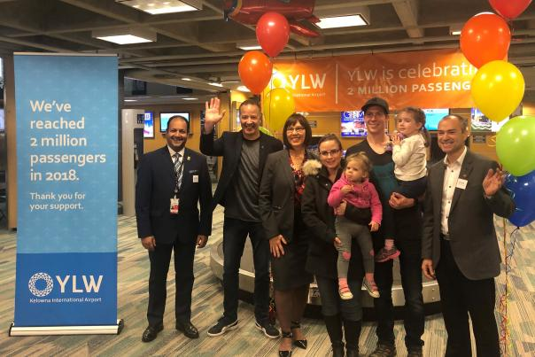 YLW 2 millionth Passenger Celebration